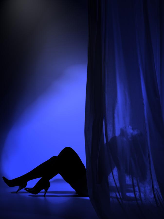 erotiek in blauw